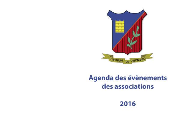 L'Agenda 2016 des Associations