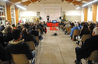 Vœux du Maire et du Conseil Municipal aux Tignétans le 6 Janvier 2017