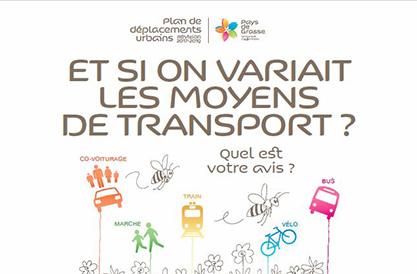 Et si on variait les moyens de transport ?